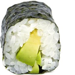 Hosomaki Avocado (8 stk)