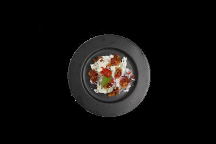 Broccolisalat (med bacon, hjemmelavet dressing)
